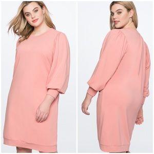 Eloquii New Puff Sleeve Sweatshirt Dress 14/16
